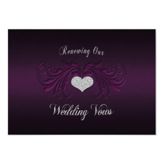 wedding vow renewal invitations  announcements  zazzle, invitation samples