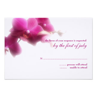 Wedding Response Card Invitations