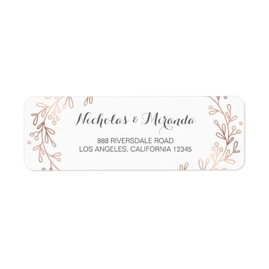 wedding address labels Minimfagencyco