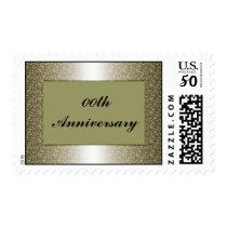 Wedding Ring Anniversary Postage Stamp