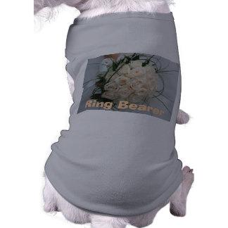 Wedding Ring Bearer Pet Clothing