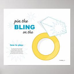 * wedding RING * bridal shower game Poster