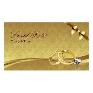 Wedding Ring Diamond Gold Jeweler Jewelry Jeweller Business Card