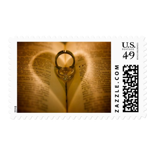 Wedding Ring Heart Stamps