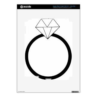 Wedding Ring iPad 3 Decal