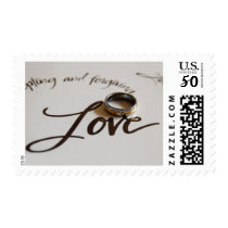 Wedding Ring Love Postage Stamps