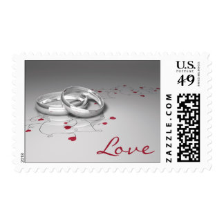 Wedding Ring Love Stamps