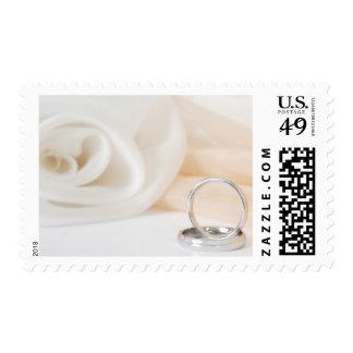 Wedding Ring Postage Stamps
