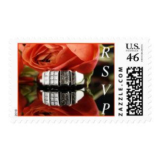 Wedding Ring RSVP Postage