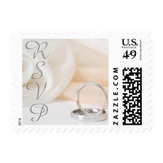 Wedding Ring RSVP stamps