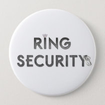 """Wedding """"RING SECURITY"""" Button"""