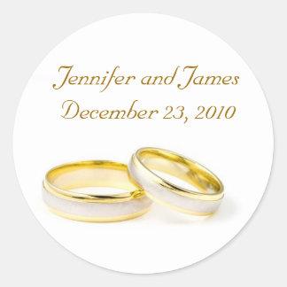 Wedding Ring Wedding Sticker