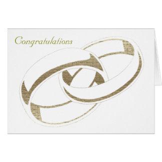 Wedding Rings Art Card