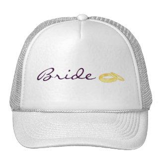 Wedding Rings (Bride) Trucker Hat