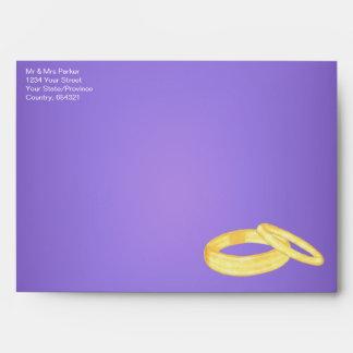 Wedding Rings Envelope