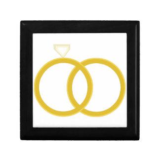 Wedding Rings Trinket Box