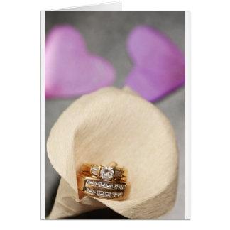 Wedding Rings Greeting Cards