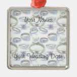 Wedding Rings Ornaments