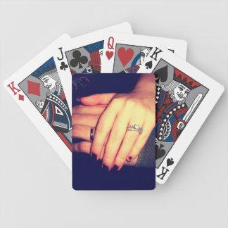 Wedding Rings: Playing Cards
