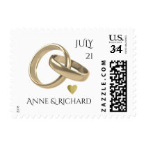 wedding rings postage