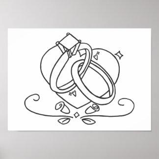 Wedding Rings Posters