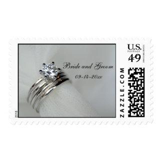 Wedding Rings Stamp