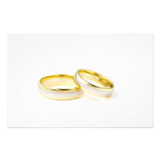 Wedding Rings Stationery Design