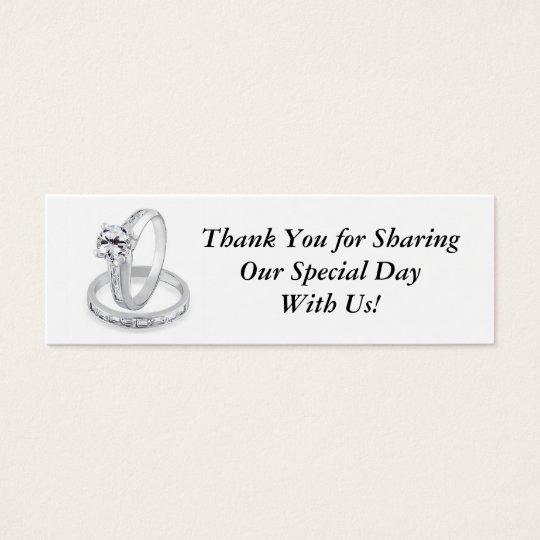 Wedding Rings Tag