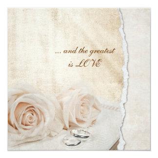 Wedding Rings Vow Renewal Card