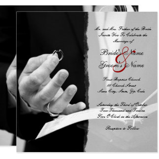 Wedding Rings Wedding+invitation Card