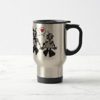 Wedding robots coffee mug