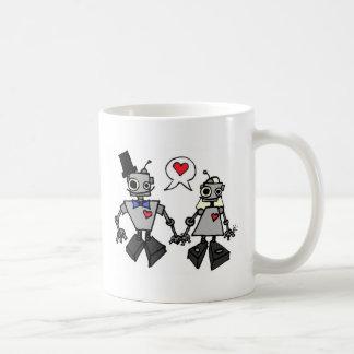 Wedding robots coffee mugs