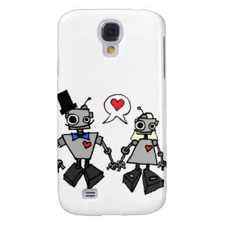 Wedding robots samsung galaxy s4 case