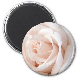 Wedding Rose 2 Inch Round Magnet