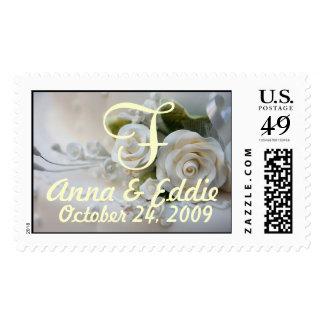 Wedding Rose Postage