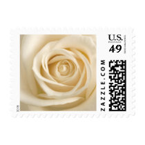 Wedding Rose Postage Stamp