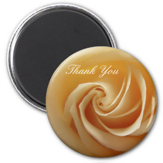 Wedding Rose Thank You Magnets