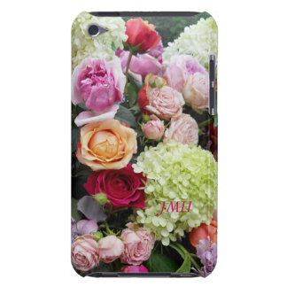 Wedding Roses Bouquet of Flowers Optional Name iPod Touch Case-Mate Case