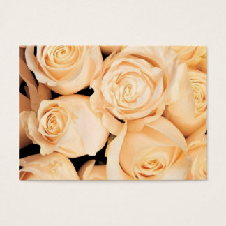 Wedding Roses notecards Business Card