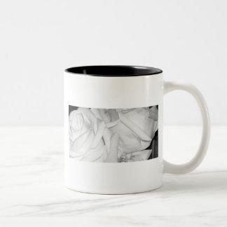 Wedding Roses Two-Tone Coffee Mug