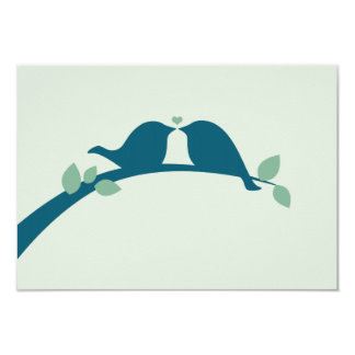 "Wedding RSVP 3.5"" X 5"" Invitation Card"