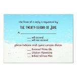 Wedding RSVP - Beach Style 3.5x5 Paper Invitation Card