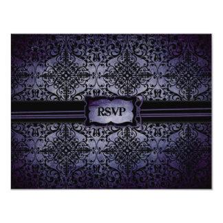 Wedding RSVP Card A2 Custom Invite