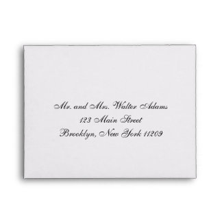 Wedding RSVP Card Envelop | Wedding Invitation Envelope