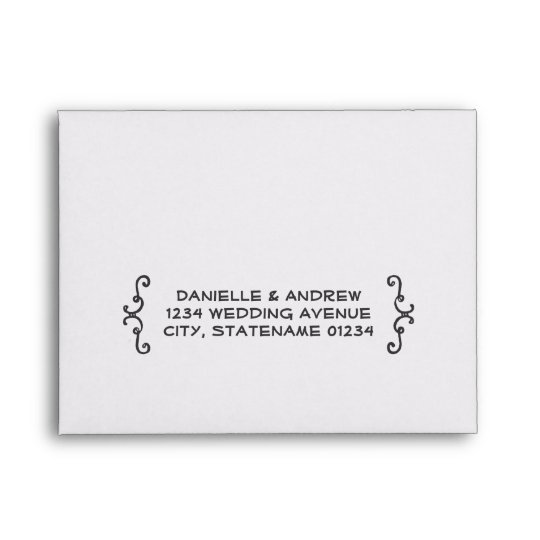 Wedding Rsvp Envelopes Handwritten Style