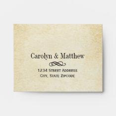 Wedding Rsvp Envelopes | Vintage Style at Zazzle