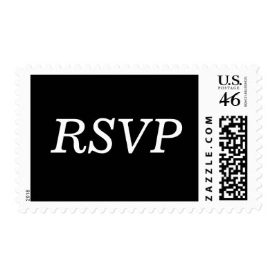 Rsvp Wedding Shoes on Wedding Rsvp Example Stamps By White Wedding