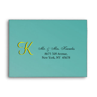 Wedding RSVP Matrimonial Envelopes