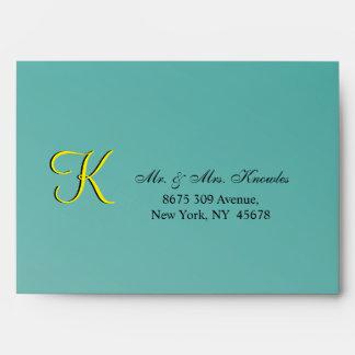 Wedding RSVP Matrimonial Envelopes
