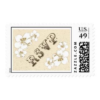 wedding rsvp postage stamps